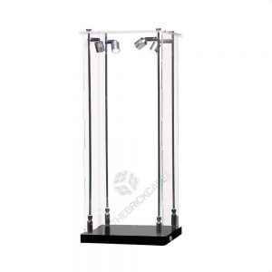 Sports Trophy Display Case - Front View AC0201-SPRW
