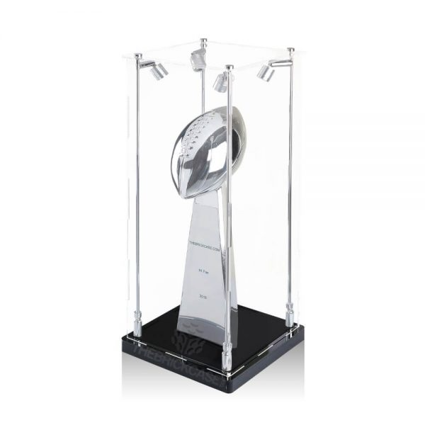 Sports Trophy Display Case - Side View AC0201-SPRW