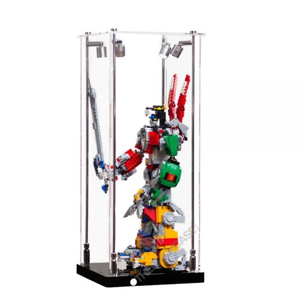 LEGO® Voltron Display Case - Side View AC0201-BCLG