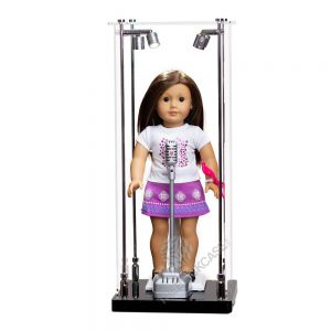 American Girl® standard The 18-inch doll Display Case - Front View AC0201-DL