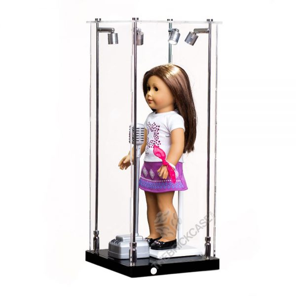 American Girl® standard The 18-inch doll Display Case - Side View AC0201-DL