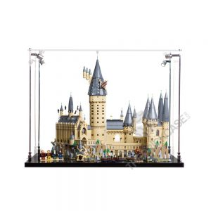 Harry Pottery Hogwarts™ Castle Display Case - Front View AC0203-BCLG