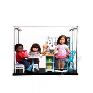 American Girl® Multiple Dolls and Theme Display Case - Front view AC0203-DL