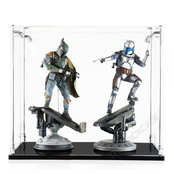 Sideshow Collectibles Premium Format Statue Display Case - Front View AC311826X-CLB