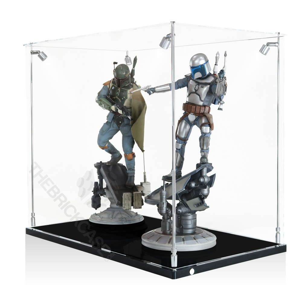 Sideshow Collectibles Premium Format Statue Display Case - Side View AC311826X-CLB