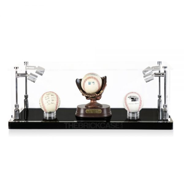 Baseball Display Case - Front View BC0301-SPRW