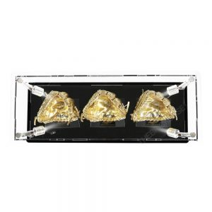 Mini Baseball Gloves Display Case - Top View BC0301-SPRW