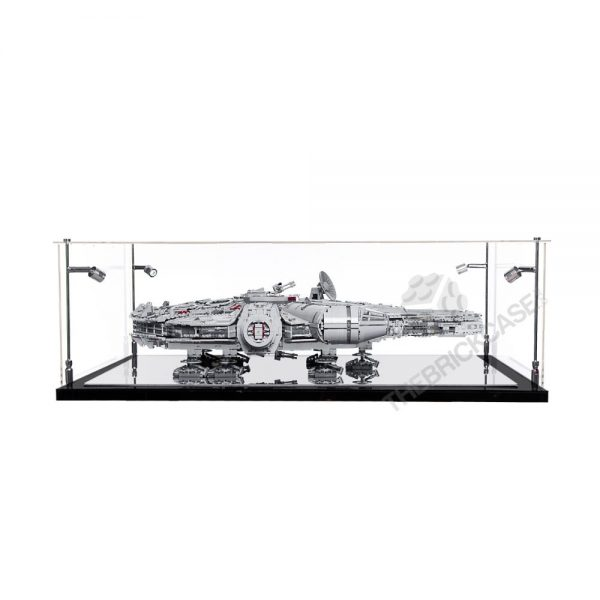 LEGO® Star Wars™ Millennium Falcon™ Display Case - Front View BC0401-BCLG