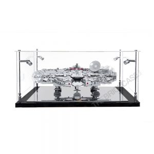 LEGO® Star Wars™ Millennium Falcon™ Display Case - Side View BC0401-BCLG