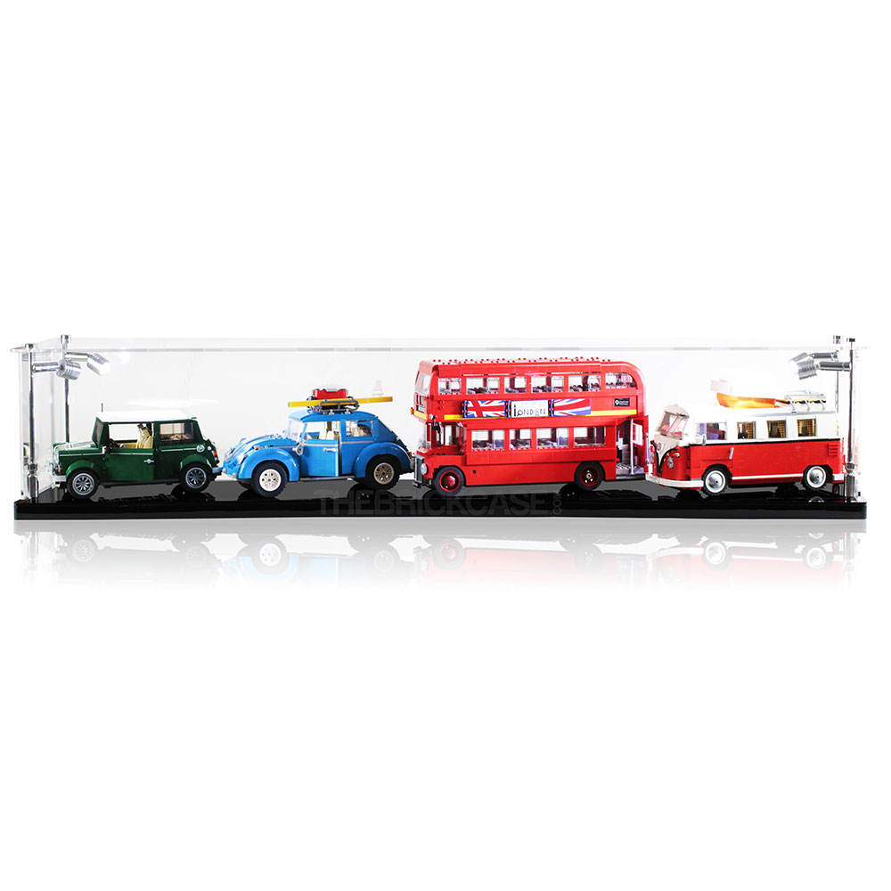 LEGO Multiple Car Display Case
