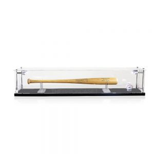 Baseball Bat Collectibles Memorabilia Display Case - Side View BC0501-SPRW