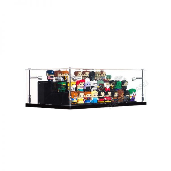 LEGO® BrickHeadz Display Stand - Side View BC0801-BCLG