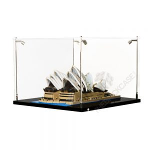 LEGO® Creator Expert Taj Mahal Display Case - Side View BC0901-BCLG