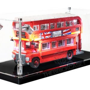 LEGO® Creator Expert London Bus Display Case - Side View BC210808-BCLG