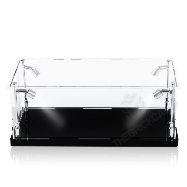 Vinyl Collectible by DC Display Case - Front View BC0501-CLB