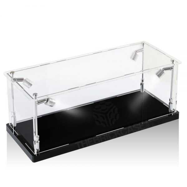 Vinyl Collectible by DC Display Case - Side View BC0501-CLB