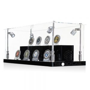 Challenge Coins Display Case - Side View BC210808-CLB