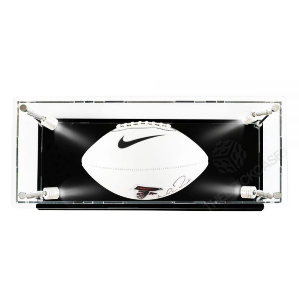 Football Display Case - Top View BC210808-SPRW