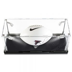 Football Display Case - Top Side View BC210808-SPRW