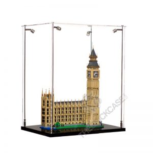 LEGO® Creator Expert Big Ben Display Case - Side View BC241731-BCLG
