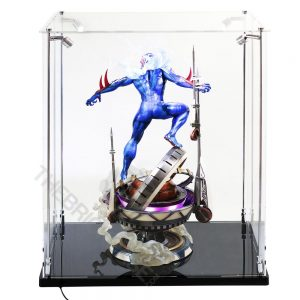 Sideshow Collectibles Life Size Bust and Premium Format Statue Display Case - Back View BC241731-CLB