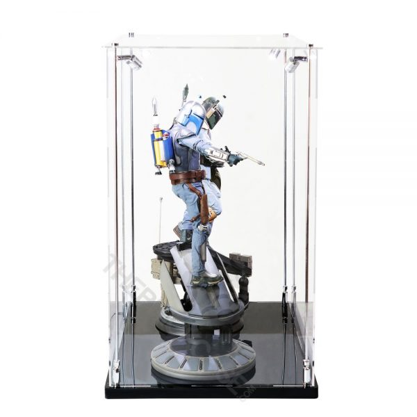 Sideshow Collectibles Life Size Bust and Premium Format Statue Display Case - Side View BC241731-CLB