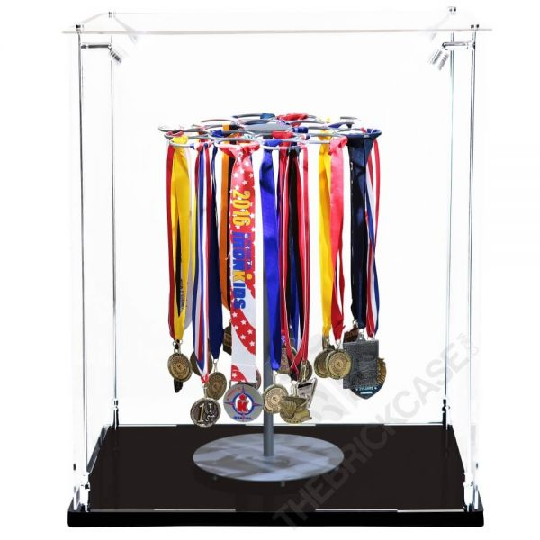 Sports Medal Display Case - Front View BC241731-SPRW