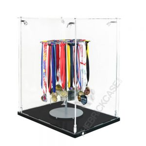 Sports Medal Display Case - Side View BC241731-SPRW