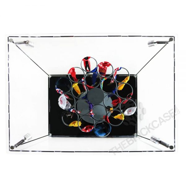 Sports Medal Display Case - Top View BC241731-SPRW