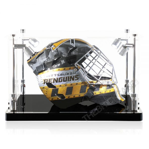 Hockey Goalie Mask Display Case - Side View SC151209-SPRW