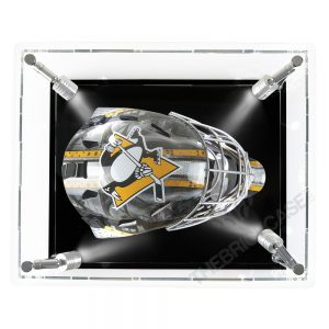 Hockey Goalie Mask Display Case - Top View SC151209-SPRW