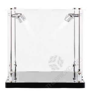 Basketball Display Case - Front View SC121212X-SPRW