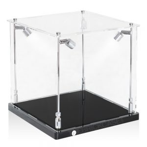 Soccer Ball Display Case - Side View