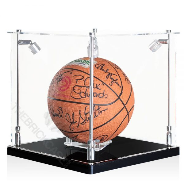 Basketball Display Case -Side view SC121212X-SPRW