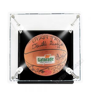 Basketball Display Case - Top View SC121212X-SPRW