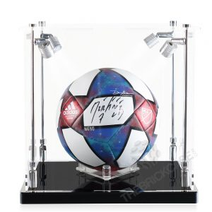 Soccer Ball Display Case - Front View SC121212X-SPRW