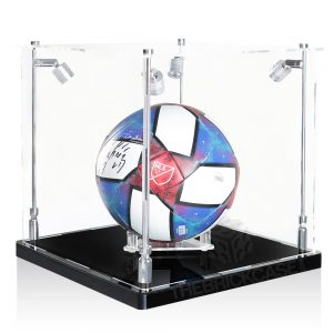Soccer Ball Display Case - Side View SC121212X-SPRW