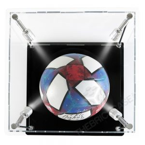 Soccer Ball Display Case - Top View SC121212X-SPRW