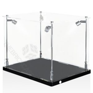 Football Helmet Display Case - Side View SC171213X-SPRW