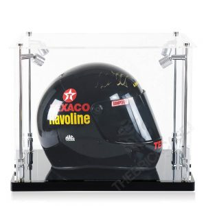 Racing Helmet Collectibles Memorabilia Display Case - Side View SC171213X-SPRW