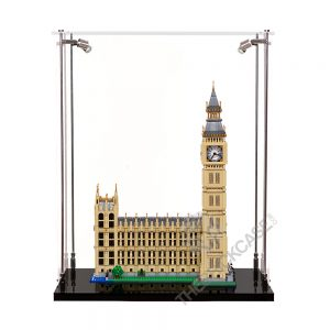 LEGO® Creator Expert Big Ben Display Case - Front View BC241731-BCLG