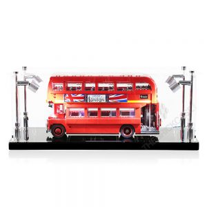 LEGO® Creator Expert London Bus Display Case - Front View BC210808-BCLG