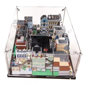 LEGO® Creator Expert Modular Houses City Display Case - Front View BC0601-BCLG