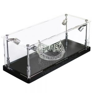 Crown Tiara Display Case - Side View BC0301-CLB