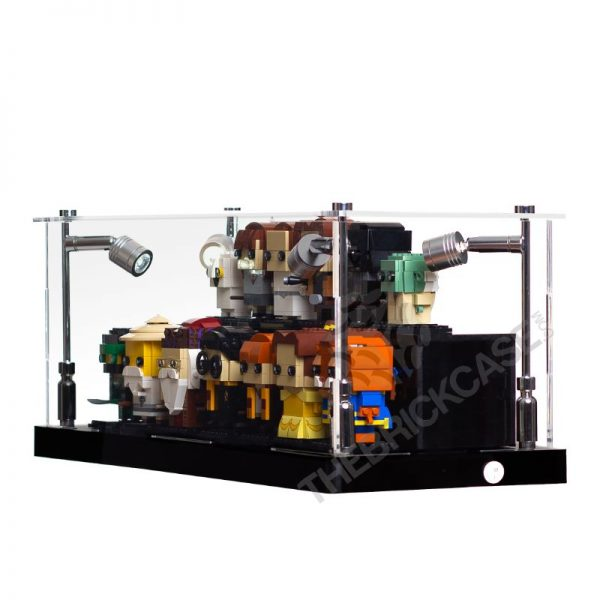 LEGO® BrickHeadz Display Case - Side View AC0301-BCLG