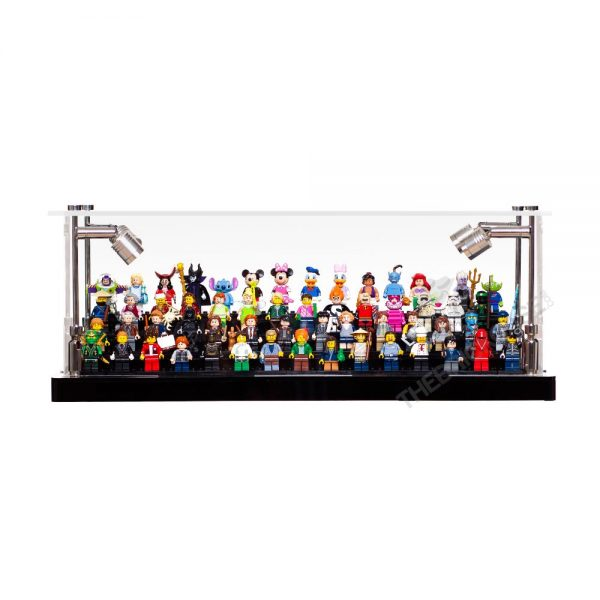 LEGO® Minifigure Display Case - Front View BC0301-BCLG
