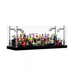 LEGO® Minifigure Display Case - Side View BC0301-BCLG