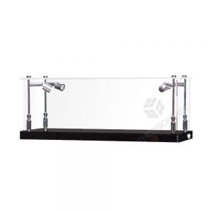 Handgun Display Case - Front View BC0301-CLB