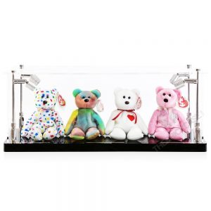Beanie Babies Display Case - Front View BC0301-CLB