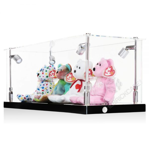 Beanie Babies Display Case - Side View BC0301-CLB